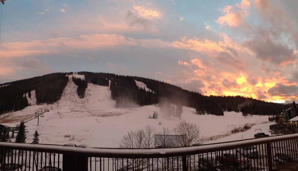 Copper sunset saying goodbye!