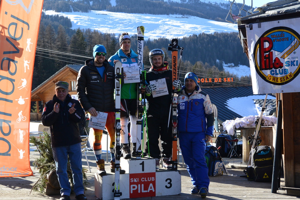 Felt good to share the podium with two guys that  have been scoring World Cup points this season :-)