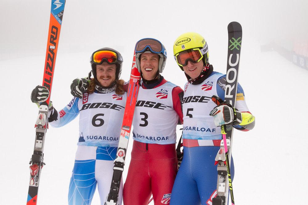 Myself, Hig Roberts, and Tim Jitloff share the GS podium.