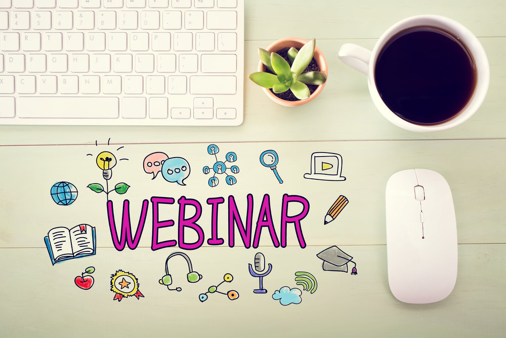Monthly  'sustainable success' webinars