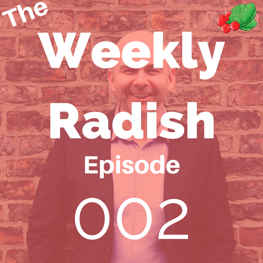 weekly radish podcast this week - alcohol and depression