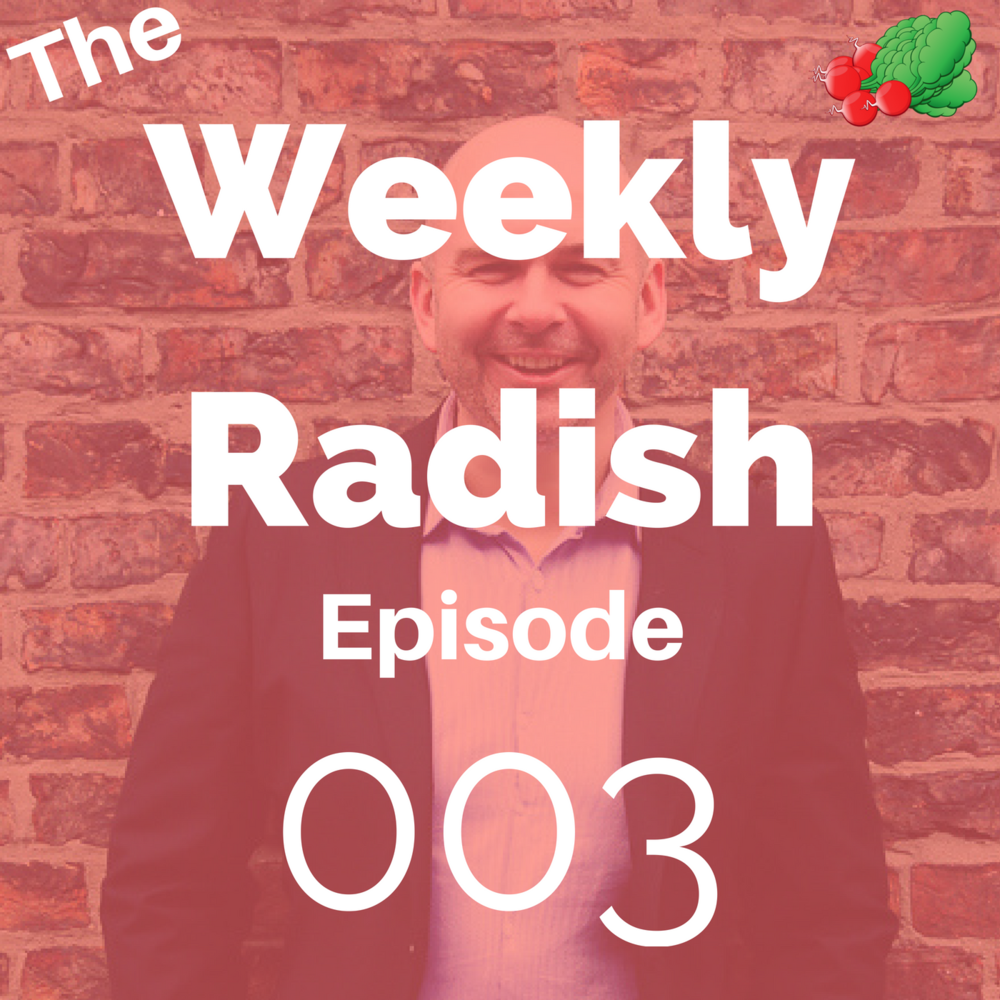 weekly radish podcast this week anxiety and therapy