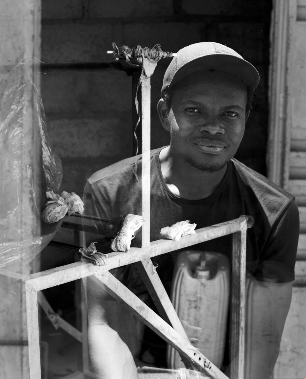 MAURICE NAGOLO Designer, BURKINA FASO