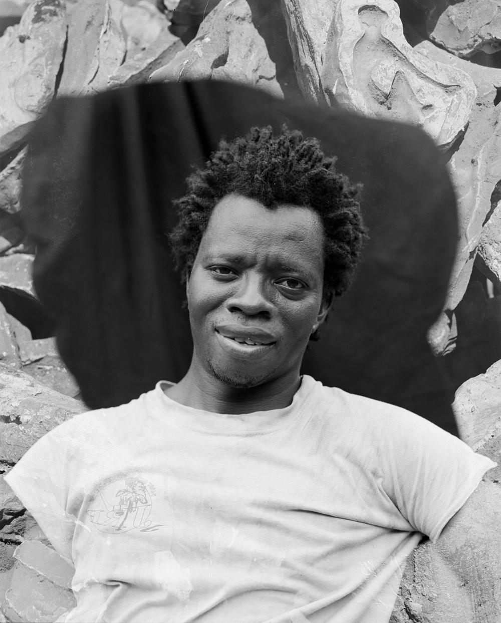 ALPHONSE OUEDRAOGO Bronze caster, BURKINA FASO