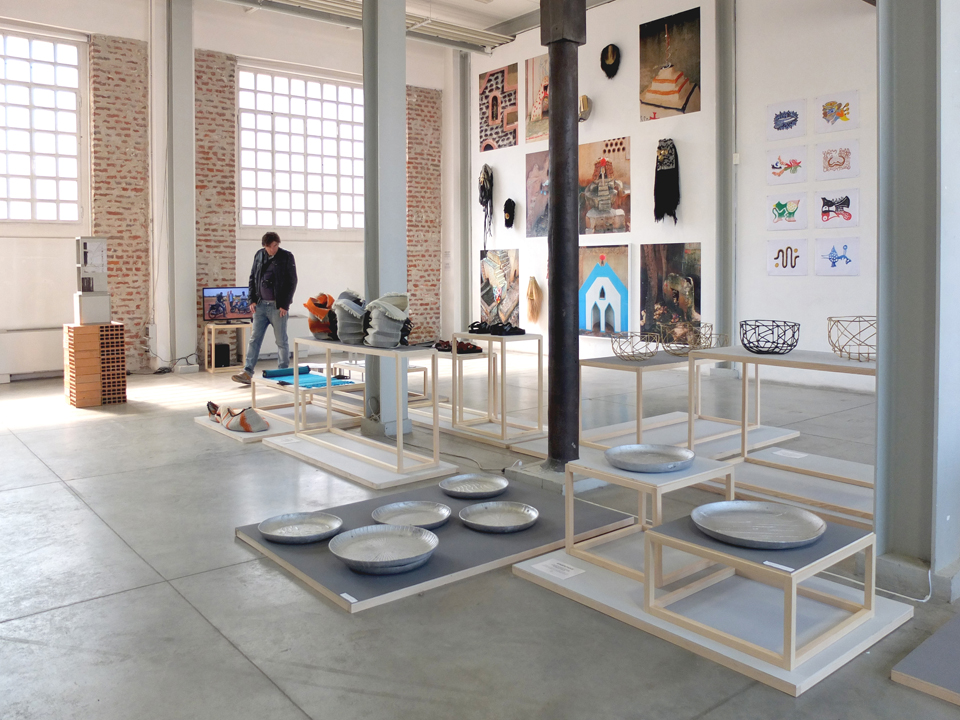 Hors Pistes exhibition Fabbrica Del Vapore Fuorisalone 2014 Milan
