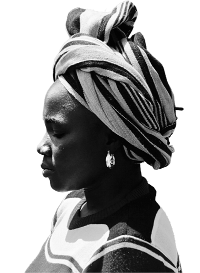 MAÏMOUNA TRAORÉ Palm weaver, BURKINA FASO