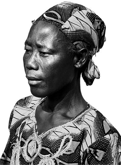 SITA KONÉ  Palm weaver, BURKINA FASO