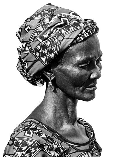 SITA SANYAN Palm weaver, BURKINA FASO