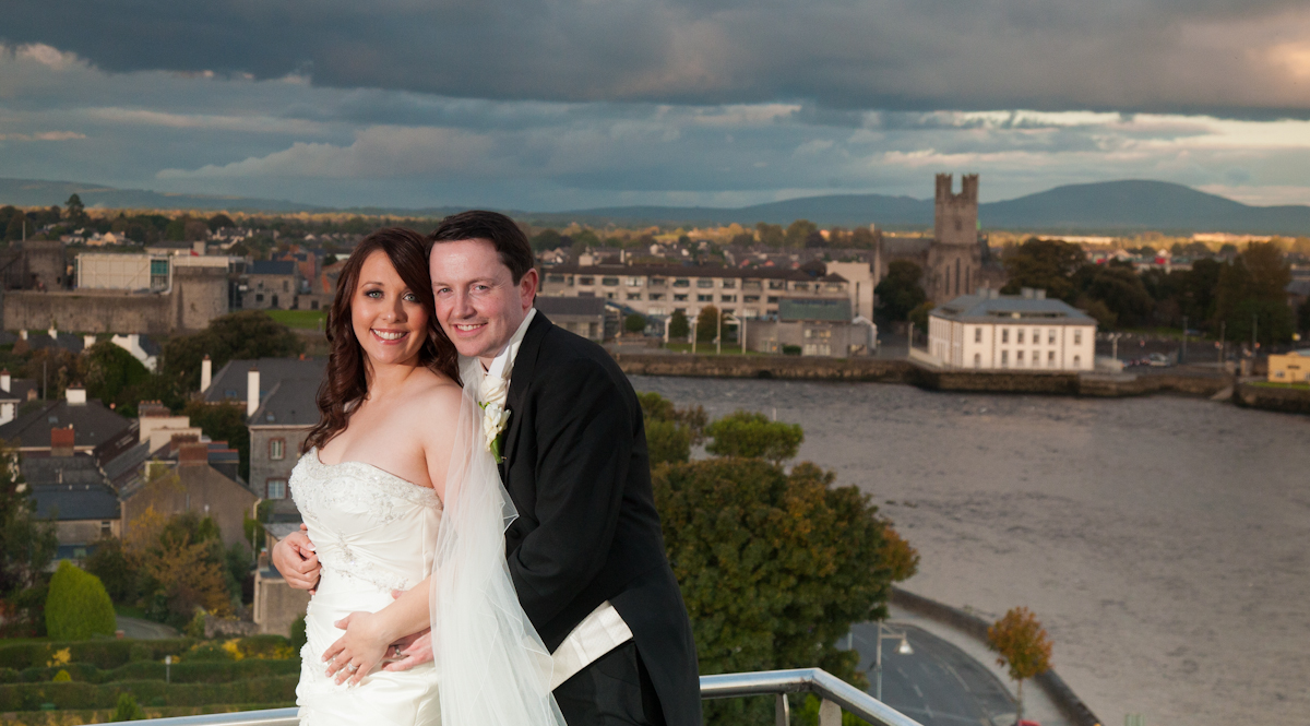 Wedding photography strand hotel limerick