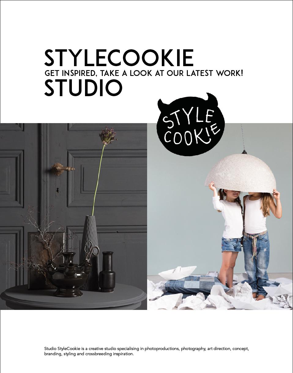 JAN 2017 | STYLECOOKIE STUDIO We willen jullie graag ons werk in opdracht laten zien; get inspired and take a look! We hebben een mooi boekje op issuu gezet. Bekijk het hier.