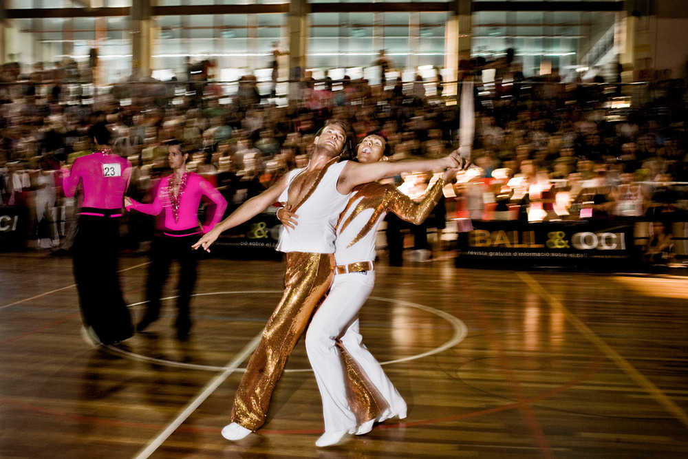 Gay Olympics, the winners of the ballroom competition