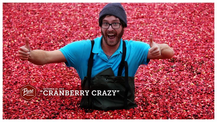 We all go a little cranberry crazy around here in the fall. Image courtesy of Pure Muskoka.