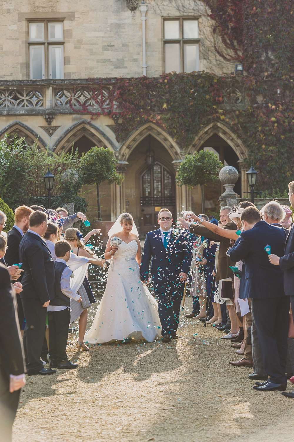 Manor by the Lake confetti shot