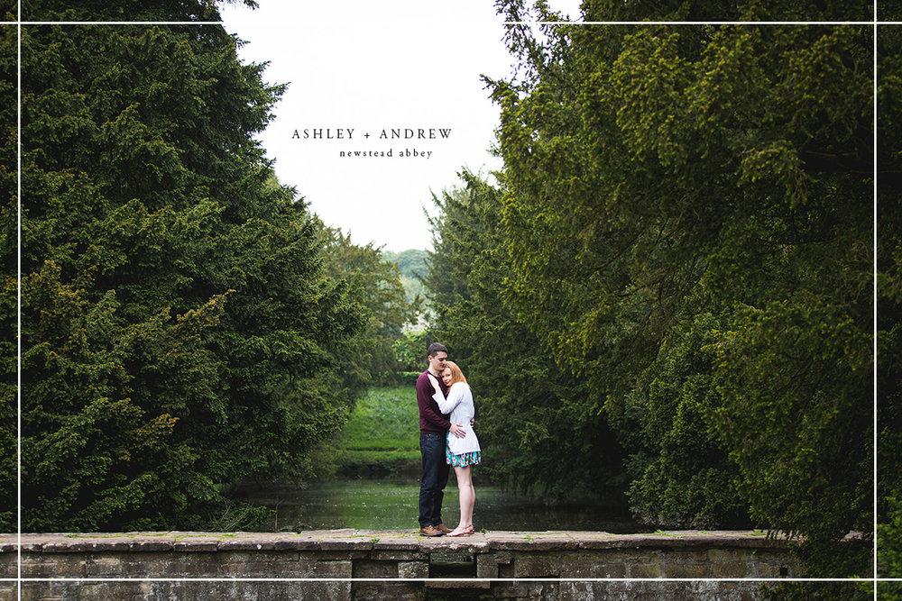 Newstead Abbey Engagement Shoot