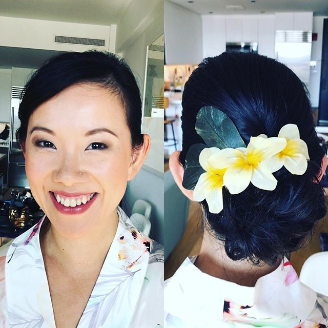 One of our beautiful #brides from this weekend. #hair and #makeup by the fabulously talented @marissamasellamakeup!! #YouNiqueChicBeauty #weddings #weddinghairandmakeup #bride #bridal #bridalhairandmakeup #fallbrides #fall