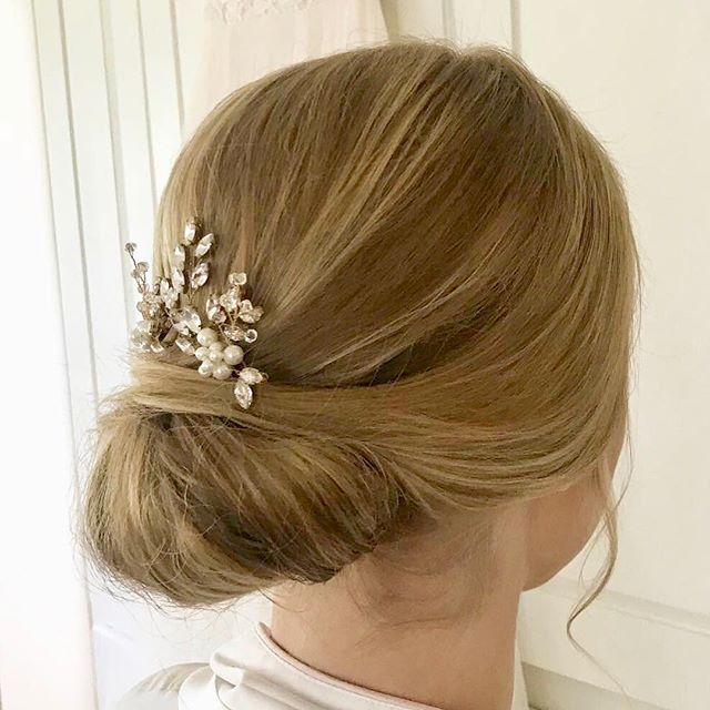 How gorgeous was this hair on yesterday's bride?? Stunning! 💇🏼‍♀️💄: @rachelhelsley . #LynnMarieBeauty #Hair #Makeup #Artist #Beauty #BridalBeauty #Stylist #Brides #Weddings #WeddingHairAndMakeup  #Love #Classic #UpDo #Sleek #Chic  #OnLocation #AnytimeAnywhere