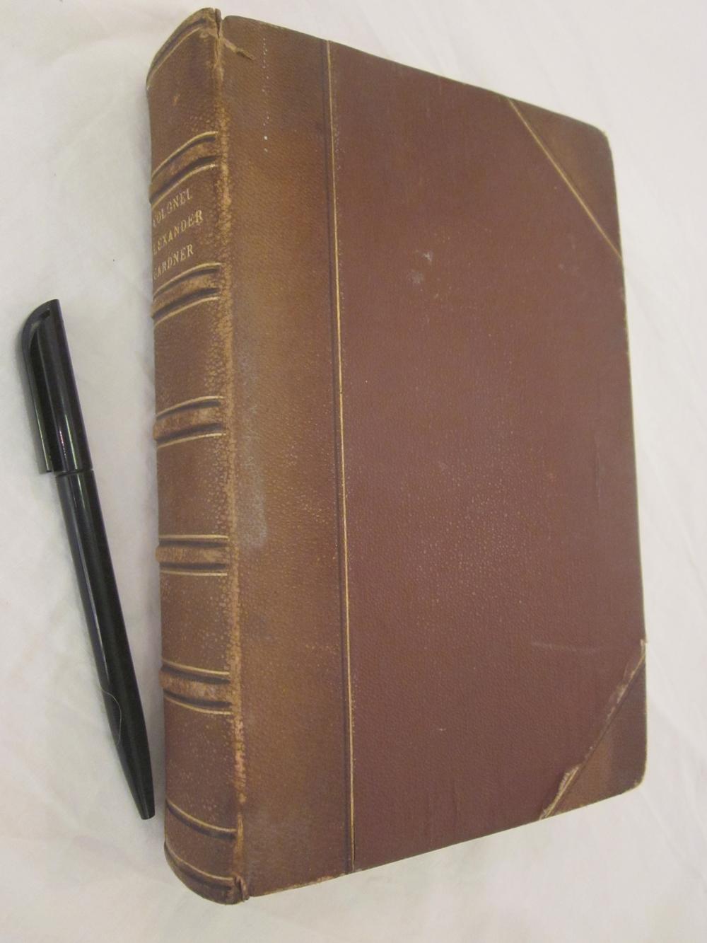 Memoirs of Alexander Gardner