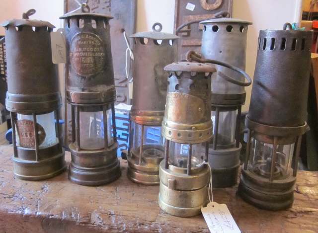 Miners' lamps