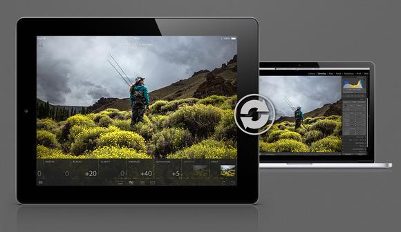 Imagen de la presentación de Lightroom Mobile de Adobe