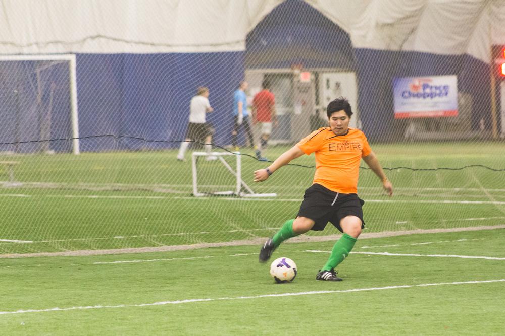 Day 22 - Soccer Kicks