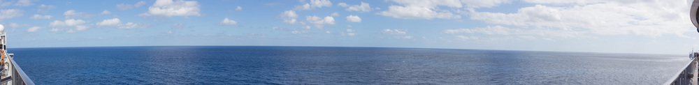 Day at Sea Panoramic