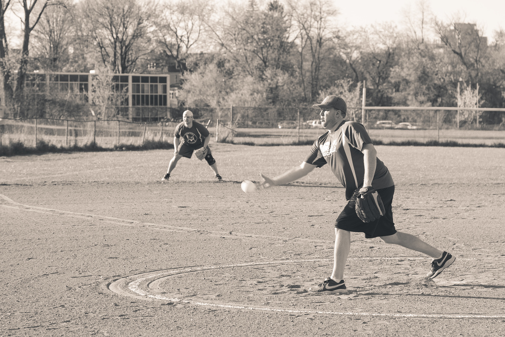 Day 128 - Softball
