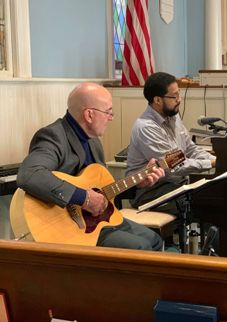 Bob Caputo and Eliud Leopoldo Davis, Ministers of Music
