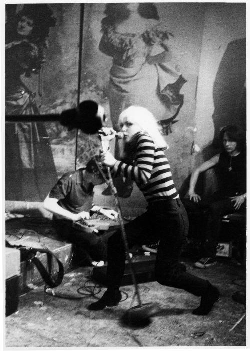 Blondie, CBGB's 1977
