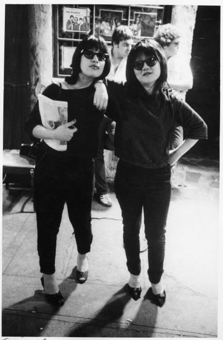 Sylvia Reed, Anya Philips Bowery 1978
