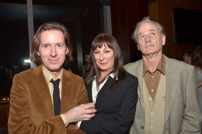 Wes Anderson, Anjelica Huston, Bill Murray - NYFF 2011