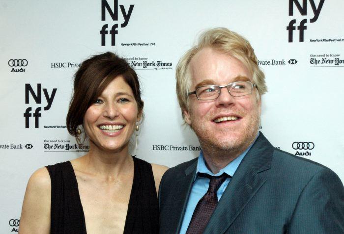 Catherine Keener, Philip Seymour Hoffman NYFF 2005