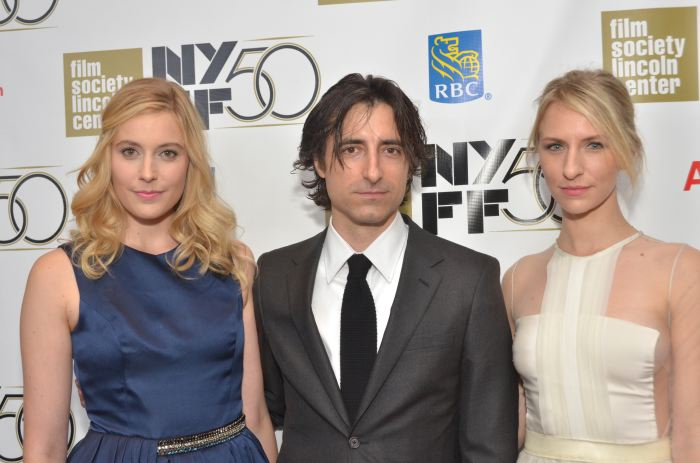 Greta Gerwig, Noah Baumbach, Mickey Sumner, NYFF 2012