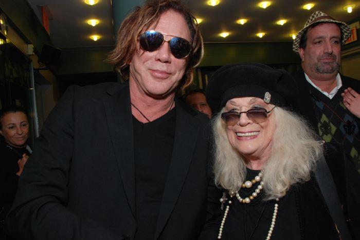 Mickey Rourke, Sylvia Myles NYFF 2008
