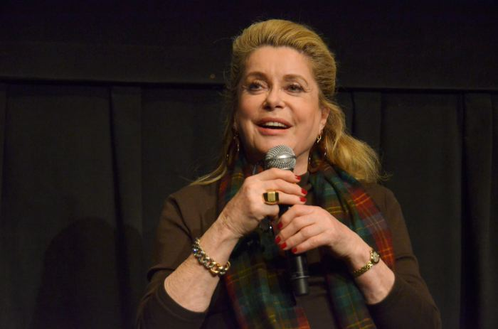 Catherine Deneuve at BAM Cinematek, Brooklyn on Friday
