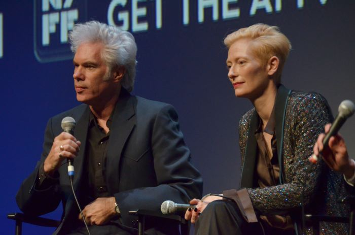 Jim Jarmusch & Tilda Swinton, NY FIlm Festival 2011   PHOTO: GODLIS