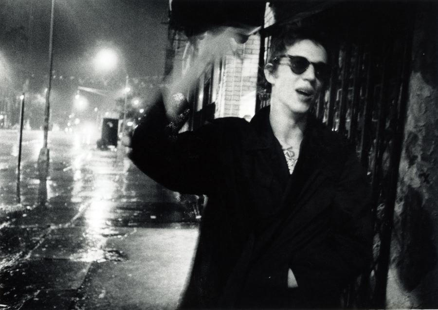 Richard Hell, Bowery rainstorm 1977