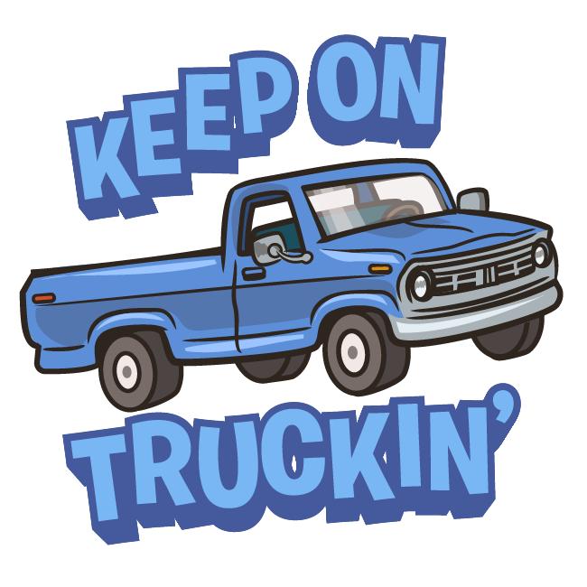 TEX emojis_keep on truckin_keep on truckin.png