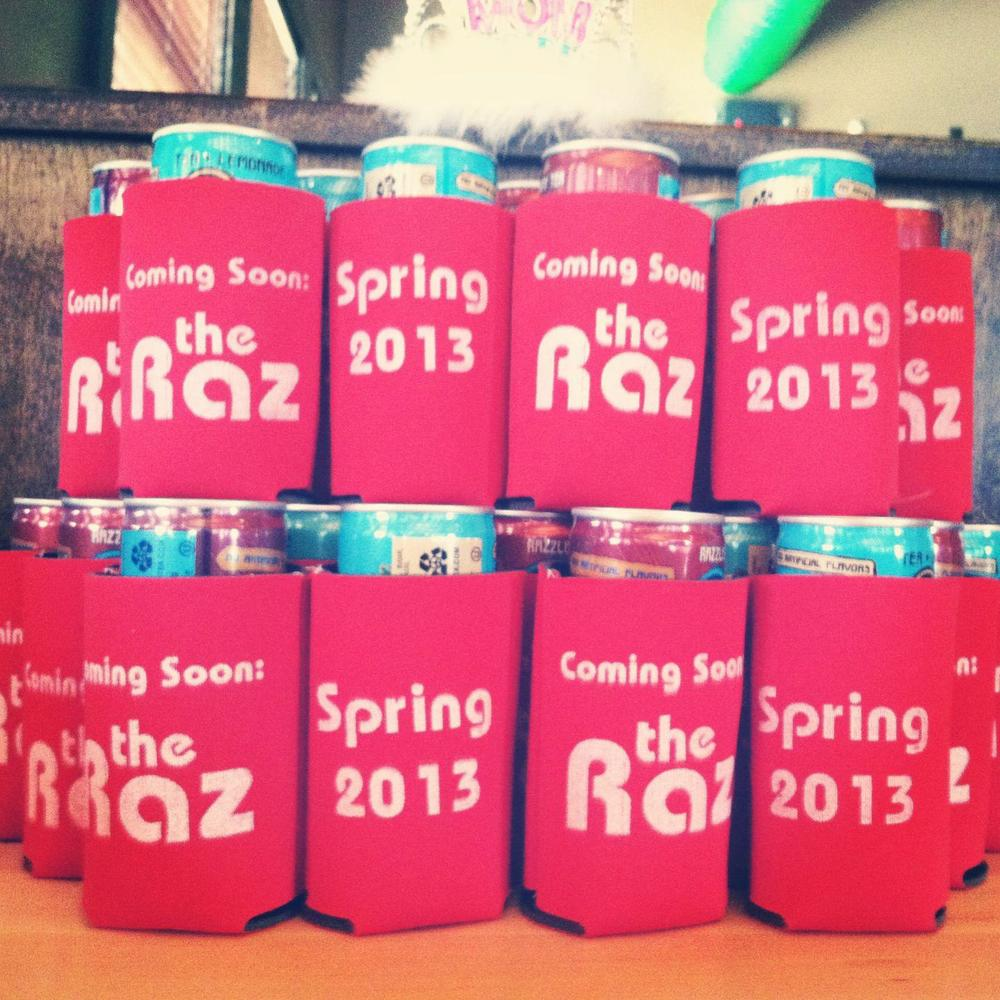 Koozies for a special occasion