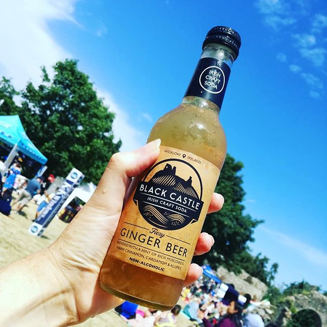 Ice cold #nonalcoholic #gingerbeer flying out at @tasteofwicklow ☀☀☀ . . . #blackcastledrinks #tasteofwicklow #tasteofwicklow2018 #wicklowtown #localfood