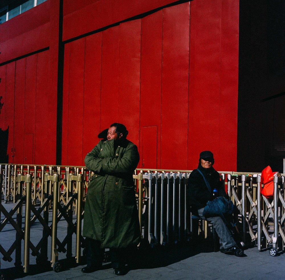 120mm, Rolleiflex, Beijing