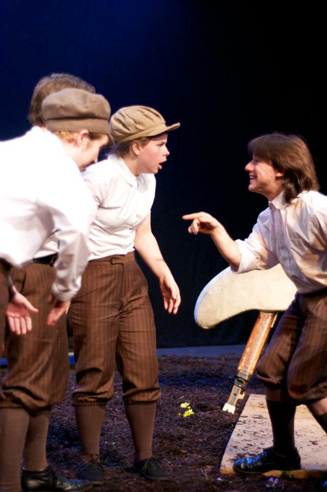 Educational Theatre: Where All the Young Boys Have Pageboy Caps and Tits