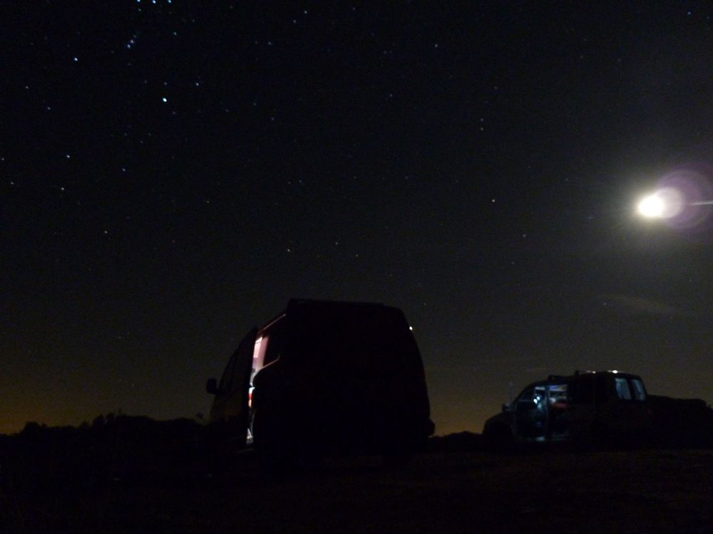 Moonlit nights. Camera: Panasonic Lumix
