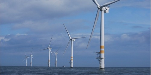 west of Ireland, the Arklow offshore wind farm. time to start adding these to the west coast of Ireland?