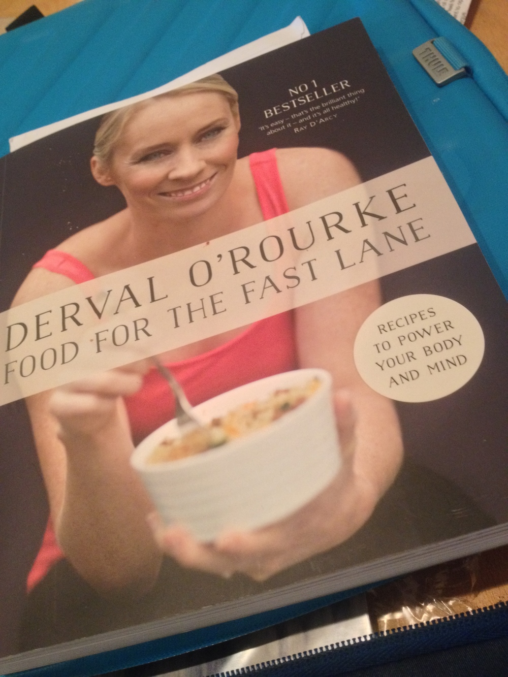 A goal for myself this year was to improve the quality of my food/eating.  Derval O'Rourke's new book  is excellent......