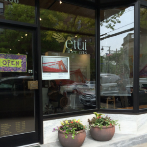 ETUI FIBER ARTS.  A great yarn store and home to MAUPSTON DESIGN STUDIO!