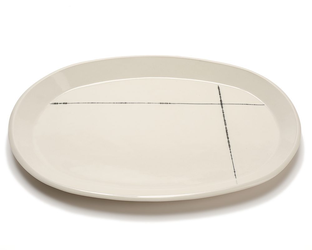 Oval Serving Platter: Intersect