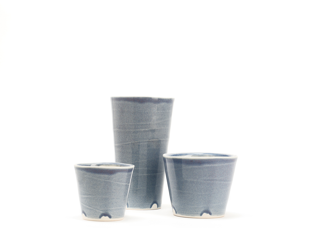 Gramercy Drinkware Collection: Blue Smoke