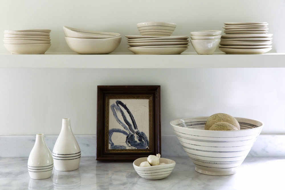 Made-to-Order - All of our dinnerware is made to order, from start to finish in our Austin, TX studio.  We'd love to get something started for you...take a look at what we can do for you.