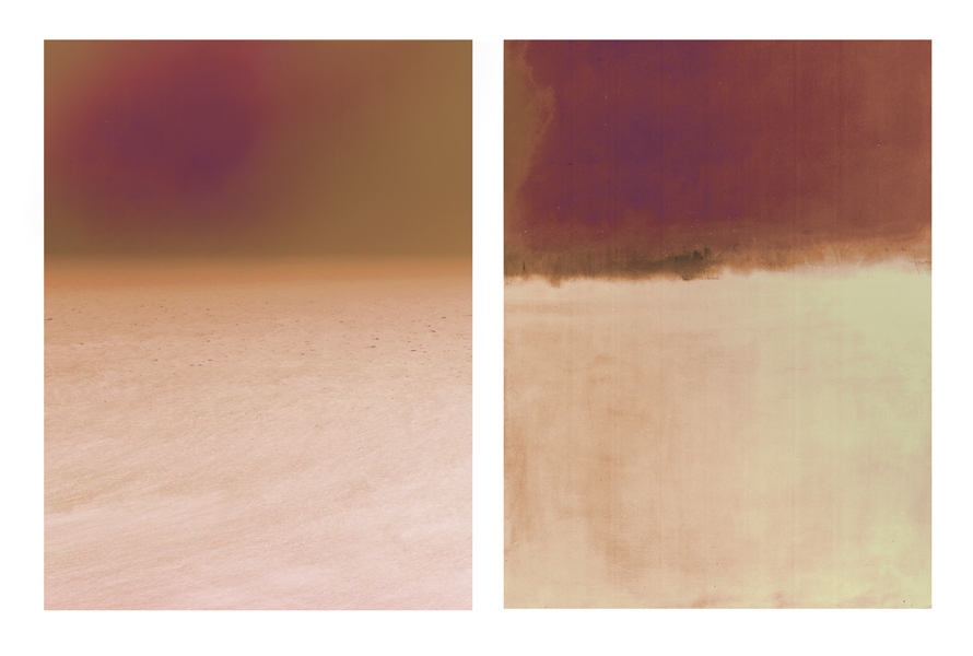 Rothko and the Sea #1 and #2