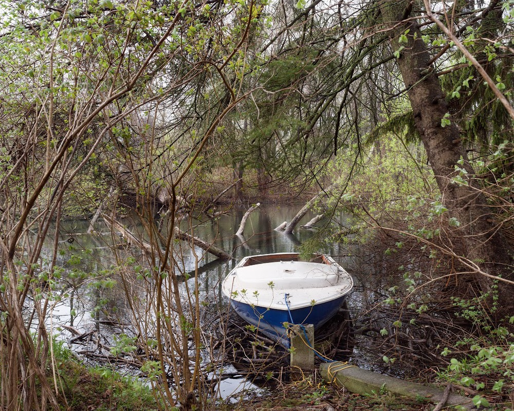 "April Hickox, Boat, chromogenic print mounted on dibond, 40"" x 50"", edition of 5, 2014"